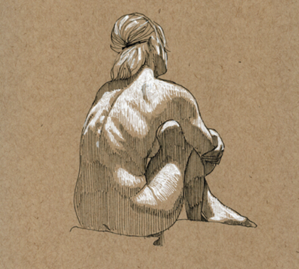 Toned paper- Light/shadow